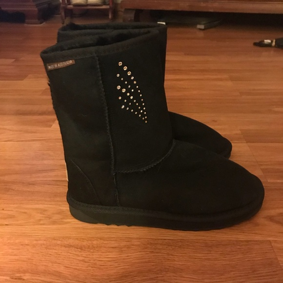 Black Blue Mountains Ugg Boots